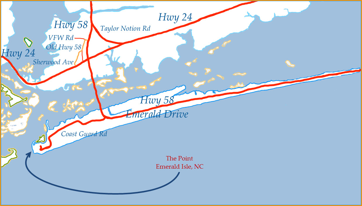 Once a reston resident crystal coast of nc for Fishing emerald isle nc